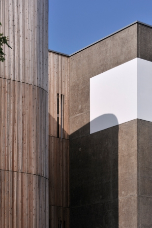 RŽsidence Esteban ˆ Nantes, Leibar & Seigneurin Architectes.